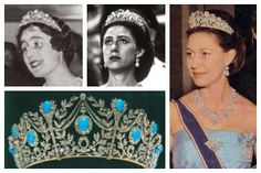 Photos (clockwise from top left): Queen Elizabeth of the United Kingdom; Princess Margaret of the United Kingdom; Princess Margaret