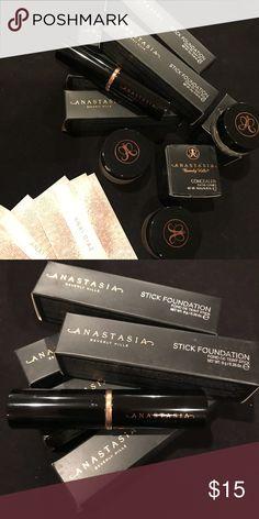 Anastasia Stick Foundation Price is for EACH item Colors AV: EXPRESSO, Beige, Caramel, & [Warm Beige- No Box] Anastasia Beverly Hills Makeup Foundation