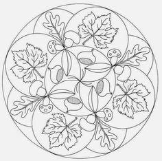 Mandala autunno