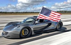 Watch the Hennessy Venom GT break the record to become the fastest car in the world! This is a MUST watch... #carporn #spon