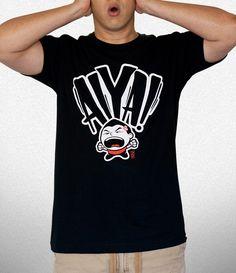 Aiya! T-Shirt #Chinese #tee #design #illustration