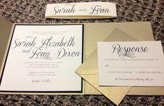 Pocketfold Wedding Invitations. via Etsy.
