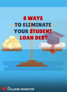 Looking for options for your student loans? Here's where to start. Student Jobs, Student Loan Debt, Student Loan Forgiveness, Get Out Of Debt, Managing Your Money, Investing Money, Make More Money, Money Management, Adulting