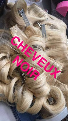 Blonde clip-ins - Do you dare to wear ?