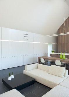 ♂ Minimalist living room space design