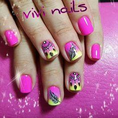 How To Do Nails, My Nails, Summer Nails, Acrylic Nails, Nail Designs, Hair Beauty, Make Up, Nail Art, Perms
