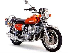 "'74 Suzuki ""Water Buffalo"" I owned a blue one fast  smooth great bike....my last bike..."