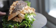 Kyllingsandwich - Dette er en helt vanlig kyllingsandwich. Helt enkel. Ikke noe tjafs.
