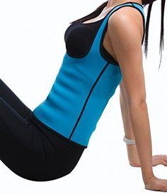 9ca0d343df Amazon.com  Roseate Body Shaper Hot Thermo Sweat Shapewear Womens Weight  Loss Tank Top Neoprene Sauna Waist Cincher M  Clothing