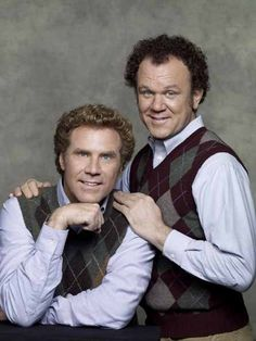 Will Ferrell and John C. Riley