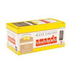 Amanda Mate Cocido Lemon Flavor Tea 3g x 25 Bags| ZocaloFoods.com - Zocalo Foods