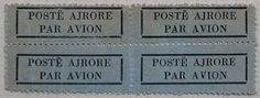International Airmail And Priority Mail Labels: Albania: Airmail labels 2