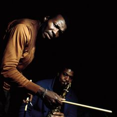 Elvin Jones and George Coleman by Francis Wolff