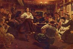 Party by Ilya Repin