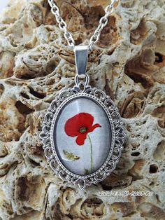 Ellys Shop: Colier imagine mac si fluturas Mac, Pendant Necklace, Handmade, Jewelry, Fashion, Moda, Hand Made, Jewlery, Jewerly