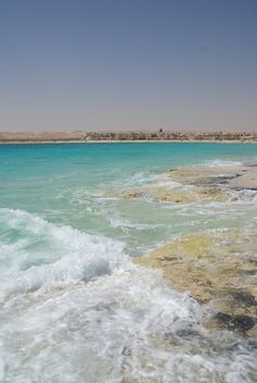 El Alamein beach in Egypt