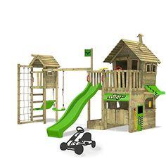 Inspirational FATMOOSE Torre da giochi RebelRacer Parco giochi Terreno https