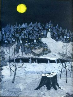 The Snow maiden by A.Ostrovskii, illustrated by A.Ermolaev, 1966