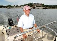 RIP Spencer - one of a kind, legendary skipper in cat boats later in life, Money Island, the Thimble Islands, Stony Creek, CT