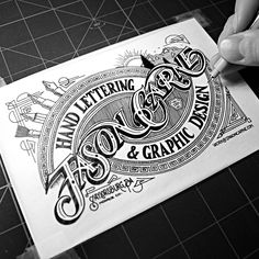 Various Hand Lettering Projects by Arthur Chayka