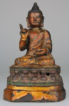 Buddha with Big Hands