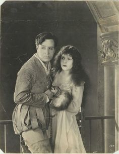 """NORMA TALMADGE & CONWAY TEARLE in """"Ashes of Vengeance"""" 1923 Original Vintage 
