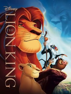 Disney's The Lion King (1994) | Absolutely love this movie. One of the best films & musicals of all time.