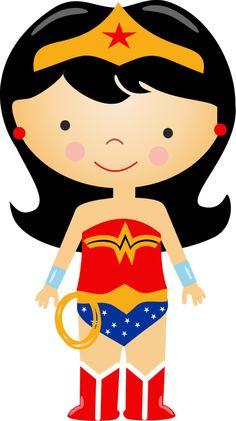 Mulher maravilha! Wonder Woman Birthday, Wonder Woman Party, Superhero Classroom, Superhero Party, Batgirl, Supergirl, Cute Images, Princesas Disney, Ladies Party