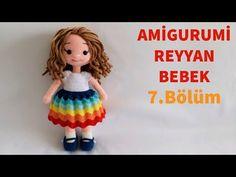 April Private Amigurumi Reyyan Babyherstellung - Leg Made . Amigurumi Tutorial, Crochet Amigurumi, Amigurumi Doll, Crochet Dolls, Crochet Baby, Free Crochet, Baby Knitting Patterns, Crochet Patterns, Amigurumi Patterns