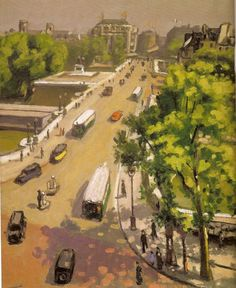 Georges Seurat, Mary Cassatt, Henri Matisse, Rio Sena, Pont Paris, Carl Spitzweg, Living In San Francisco, Post Impressionism, Urban Landscape