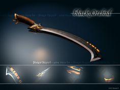 Black Orchid Sword by masda