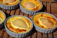 FLANS AUX POIRES WEIGHT WATCHERS