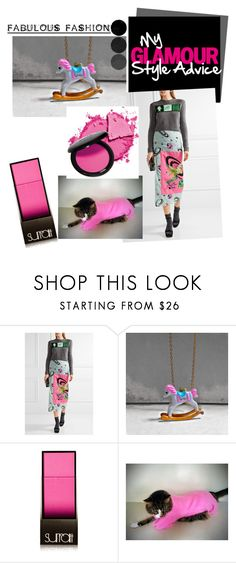 """""""Pink"""" by xena-style ❤ liked on Polyvore featuring Miu Miu, Surratt and Universal"""