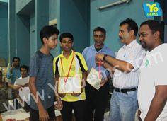 We Congratulates runner-ups, Aabhas Agarwal and Shiv Singh with  21-8, 21-17 in Boys Doubles U15 YoGems Badminton Championship series,Noida