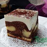 O prajitura deosebita  reteta o gasiti la Bucataresele Vesele  Prajitura cu Smantana si Budinca  instacakes  instagram  cakes  instafollowers  cake