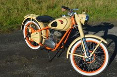 Csepel 125 D from 1957 Motorcycle, Vehicles, Rolling Stock, Motorcycles, Vehicle, Motorbikes, Engine, Tools