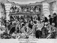 Man traf sich in den 20er Jahren in sogenannten Café-Häusern