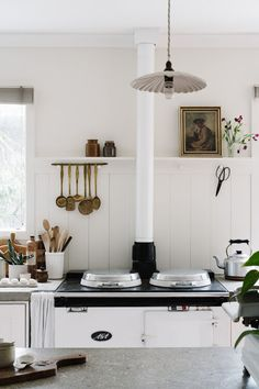 my scandinavian home: A Photographer's Vintage-Inspired Home In A Former Post Office Country Style Magazine, Macedon Ranges, Ikea Cabinets, The Design Files, Layout, Scandinavian Home, Elegant Homes, Inspired Homes, Country Kitchen