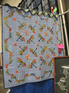 Weeding on the Wild Side: Dragonfly Quilt