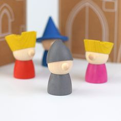 Very cute Milaniwood 'The Storytellers' finger puppet set