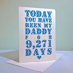 fathers day card, I love this