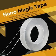 Nano Magic Tape can be fully used in various ways which adopt nanotechnology. It is more convenient than the traditional ways to attach things on the wall and floor. Besides, This Nano Magic Tape can be washed many times so that it can be reused. Cool Things To Buy, Good Things, Stuff To Buy, Lino Natural, Skin Tag, Being Used, Adhesive, Tape, How Are You Feeling