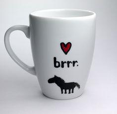 Becher & Tassen - Pferde Geschenk Tasse für Pferdeliebhaber  - ein Designerstück von Lovely-Cups bei DaWanda