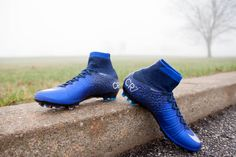Shipping out NOW! The Natural Diamond Nike Mercurial CR7 Superfly shoes!
