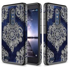 Dual Layer Shockproof Bumper Case For ZTE Grand X Max 2