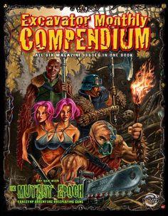 Excavator Monthly Compendium - Outland Arts | RPGNow.com