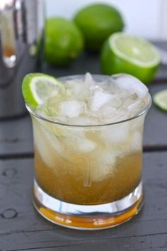 The Nor'easter - Bourbon, Lime Juice, Maple Syrup, Ginger Beer