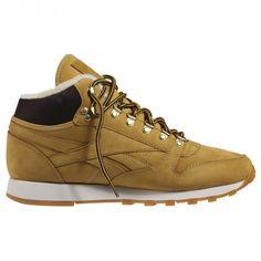 Мужские кроссовки Reebok Classic MID Sherpa V70679 • Материал веха нубук •  Внутренняя отделка из меха 12053bfba52