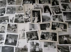 Vintage group of photographs