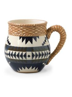Lakota Coffee Mugs, Set Of 4